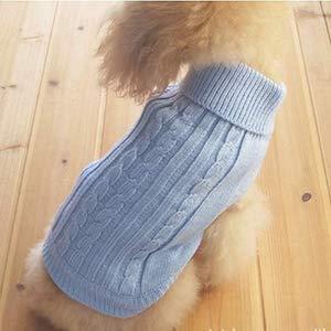 Tangpan Turtleneck Classic Straw-Rope Pet Dog Sweater