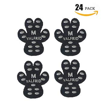 VALFRID Dog Paw Protector Rugged Anti Slip Traction Pads