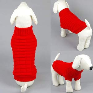 Wiz BBQT Knitted Outerwear for Dogs