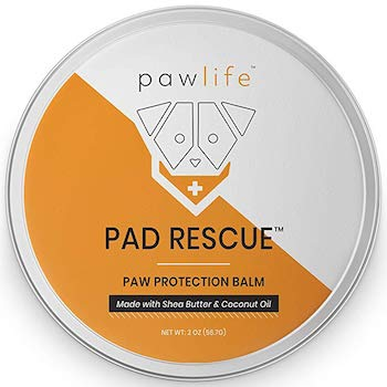 pawlife Dog Paw Balm - Natural Protection for Dry Cracked Paws