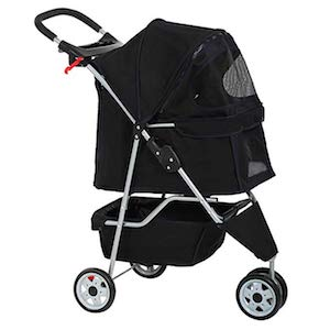 BestPet 3 Wheels Dog Stroller