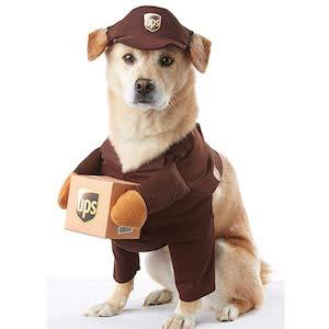 California Costume UPS Pal Dog Wear