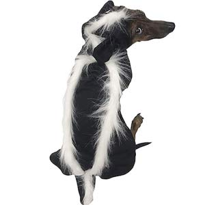 Midlee Skunk Costume for Small Dogs