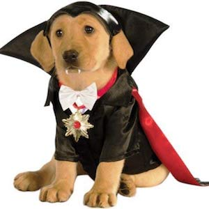 Monsters Movie Dracula Dog Costume