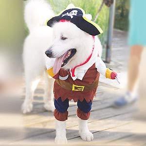 NACOCO Pirates of The Caribbean Dog Costume