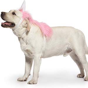 Nothing But Love Pink Unicorn Garment for Dogs