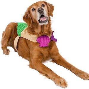 Pet Krewe Mermaid Dog Outfit
