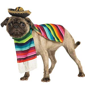 Rubie's Mexican Serape for Small Dogs