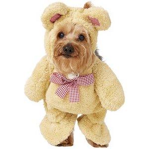 Rubie's Walking Teddy Bear Dog Outfit