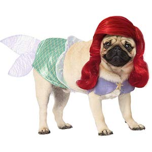 Rubie's Disney- Mermaid Dog Outfit