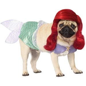 Mermaid Costume for Dogs