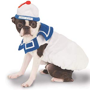 Rubies Marshmallow man Dog Costume