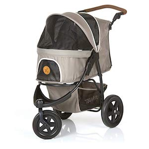 TOGfit Pet Roadster Stroller for Puppy and Senior Dog