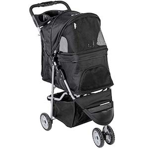 VIVO Three Wheel Dog Stroller