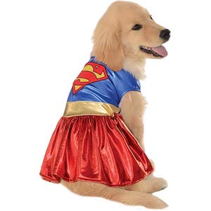 DC Heroes and Villains Collection Pet Costume-Supergirl