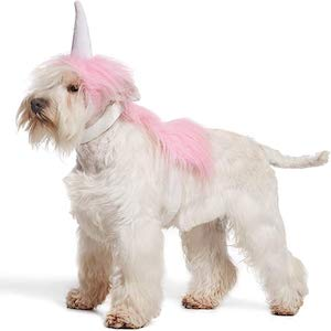 Pink Unicorn Costume for Dogs