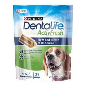 Purina DentaLife SmallMedium Adult Dog Treats