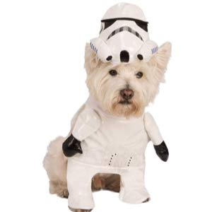 Star Wars Walking Stormtrooper Pet Costume
