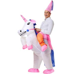 Unicorn Costume Inflatable Suit