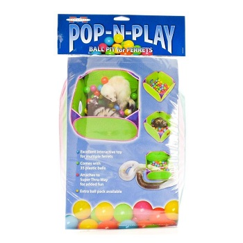 Marshall Pop and Play Balls for Ferrets