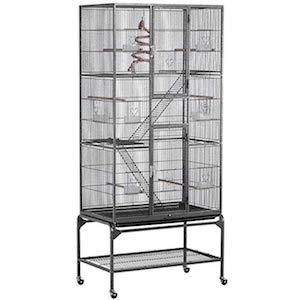 Yaheetech Extra Large Wrought Iron Cage for Ferrets