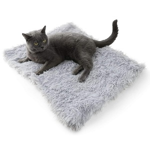 4CLAWS Furry Pet Convertible Bed or Mat