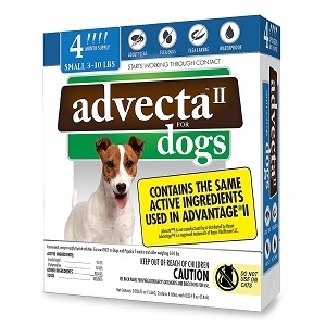 Advecta II Flea and Tick Topical Treatment
