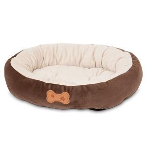 Aspen Pet Oval Cuddler Cat Bed