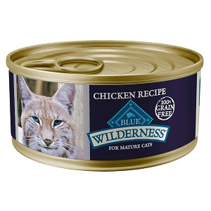 Blue Wilderness Grain Free Wet Food for Mature Cats