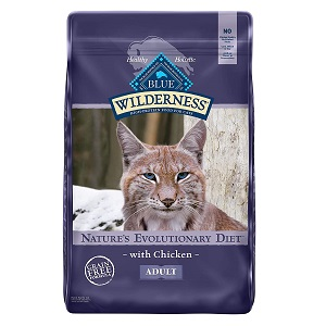 Blue Wilderness High Protein Grain Free Mature Dry Food for Cat