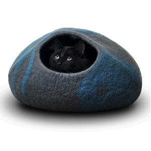 CatGeeks ComfyCat Cat Bed Cave Large