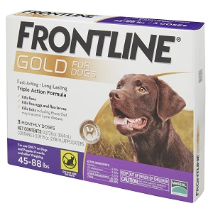 Frontline Gold Flea & Tick Treatment for Large Dogs