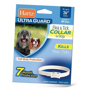 Hartz UltraGuard Flea Collar for Dogs and Puppies