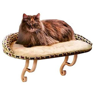 K&H Pet Products Kitty Sill Deluxe with Bolsters