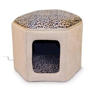 K&H Pet Products Leopard Cat House