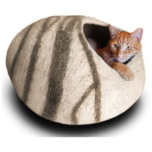 Meowfia Premium Cat Bed Cave