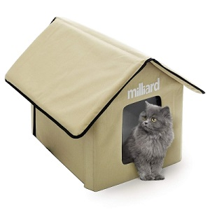 Milliard Portable Outdoor Pet House for Cat