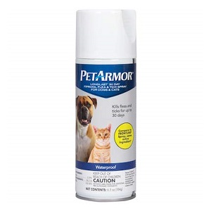 PETARMOR LongLast Fipronil Flea and Tick Spray for Cats