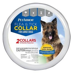 PETARMOR Premium Flea & Tick Collar for Large Dogs