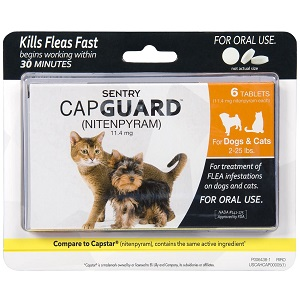 SENTRY Capguard Oral Flea Control Medication