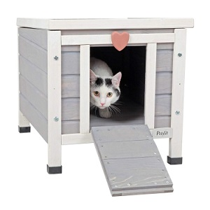 Petsfit Outdoor Cat House Shelter